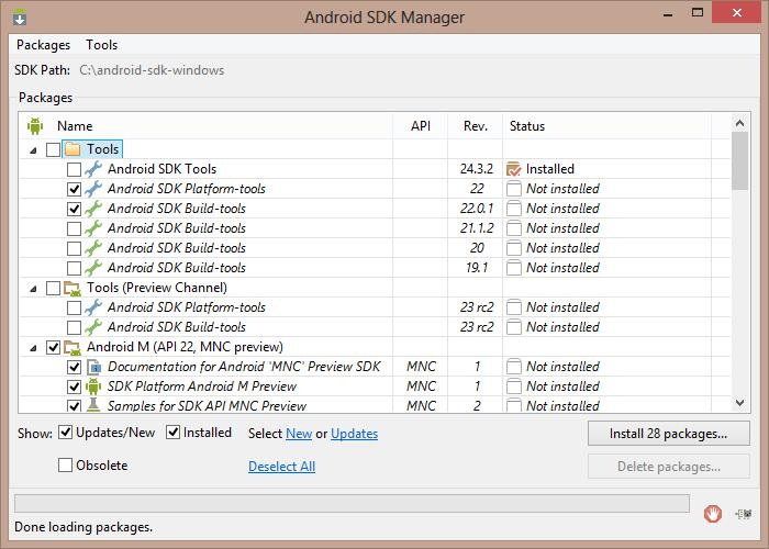 Eder Weiss's Blog: Instalación y configuración del Android SDK en