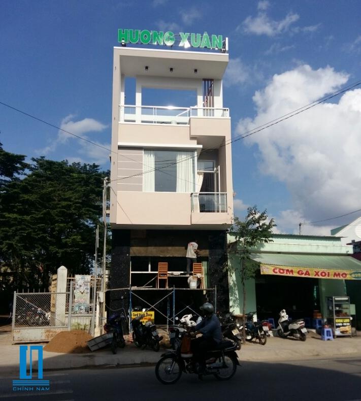 Thi công nhà chị Hương Xuân