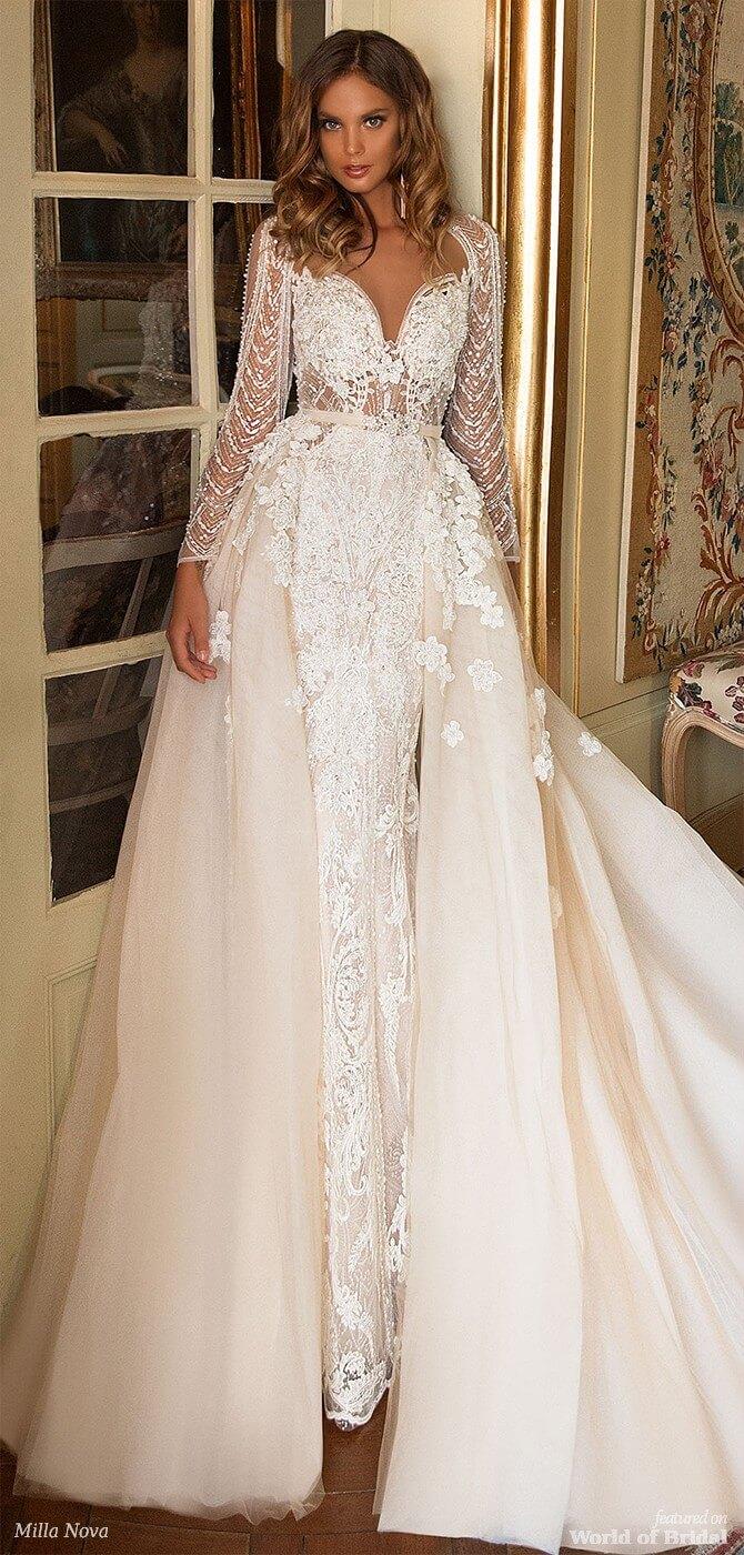 Milla Nova 2018 Wedding Dresses - World of Bridal 7d18d92a54c