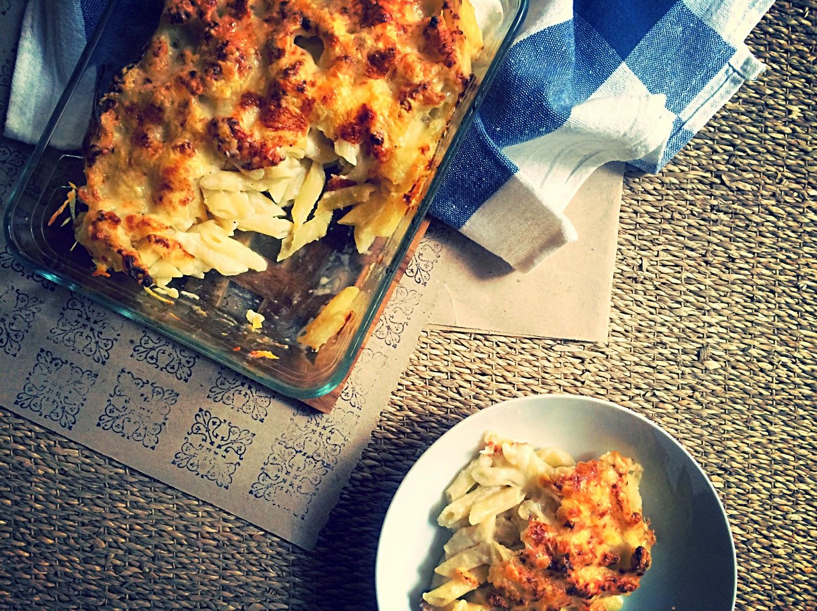 Mac 'n'  cheese-Macarrones al estilo americano