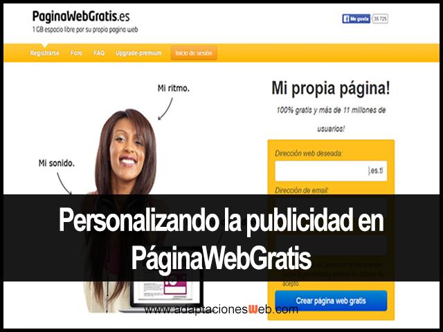 Personalizando la publicidad en PWG