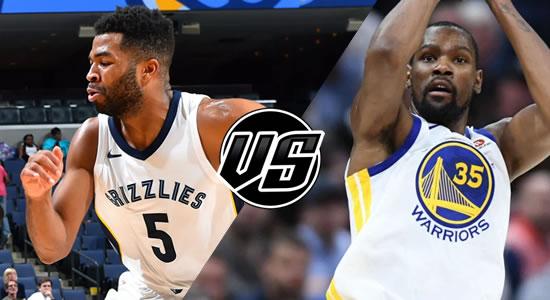 Live Streaming List: Memphis Grizzlies vs Golden State Warriors 2018-2019 NBA Season