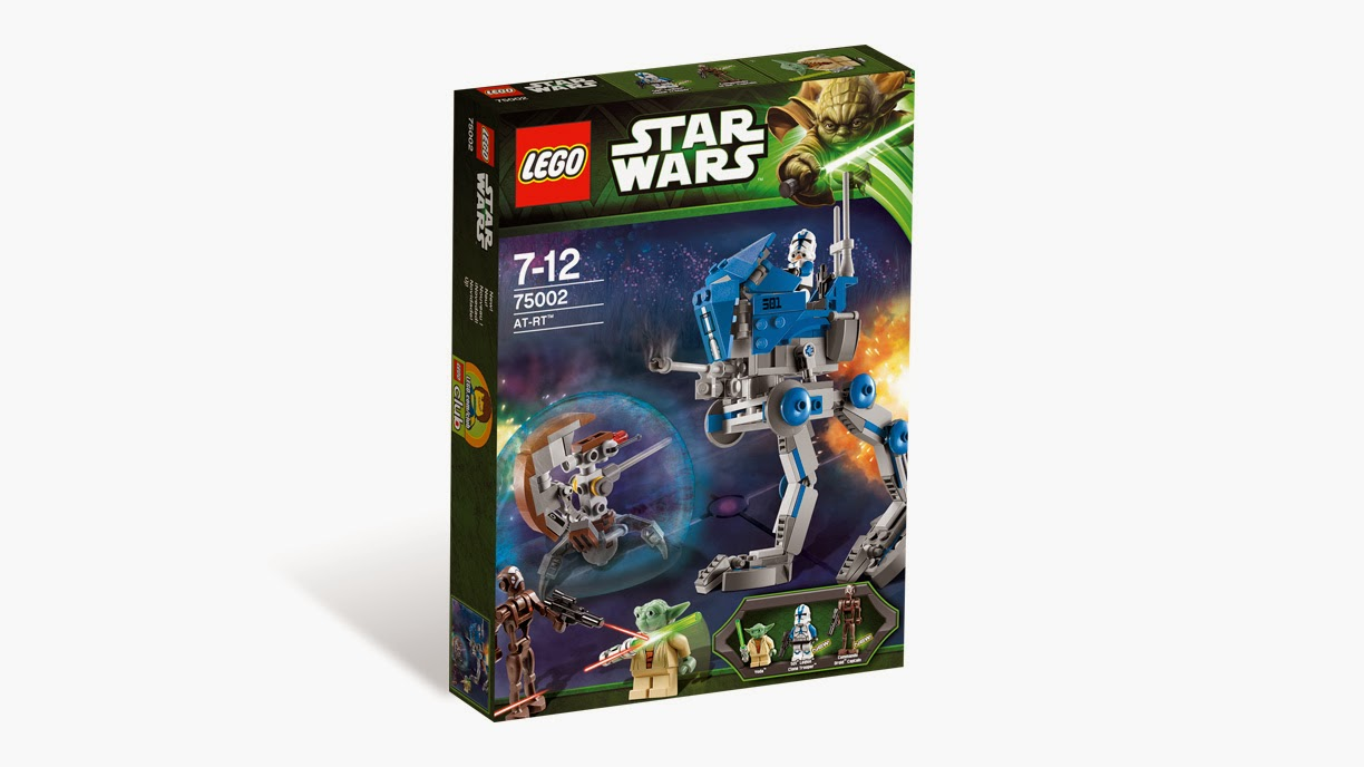 Disponible Amazon.es: AT-RT - LEGO Star Wars 75002