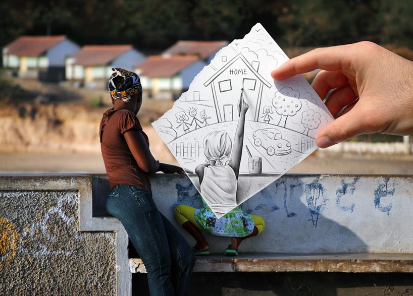 PhotoFunMasti: Ben Heine: Pencil vs. Camera