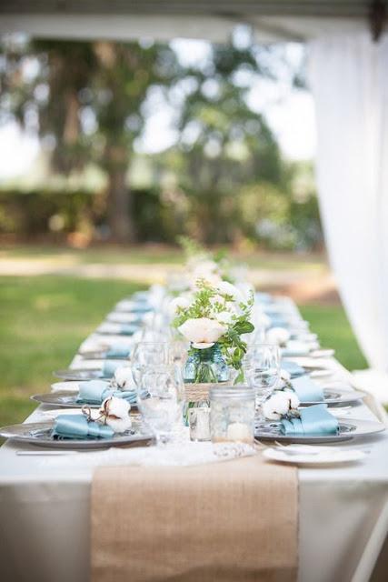 dekoracje weselne mięta