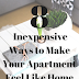 8 Inexpensive Ways to Make Your Apartment Feel Like Home