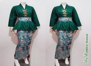 Model Baju Batik Untuk Acara Resepsi Pernikahan