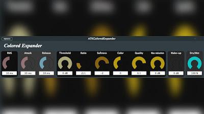 FREE ATKColoredExpander v2.0 Compressor Plugin