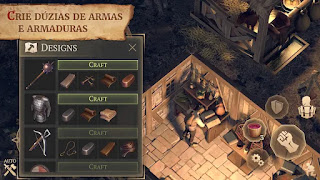 Grim Soul: Dark Fantasy Survival Apk Mod Craft Infinito