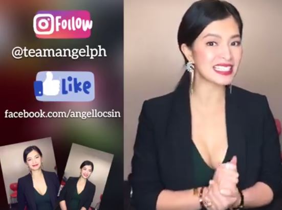 WATCH: Cute Footage Of Angel Locsin Inviting Her Fans to Watch La Luna Sangre!