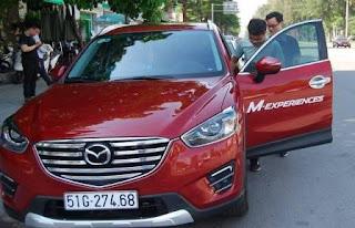 Lái thử ô tô Mazda