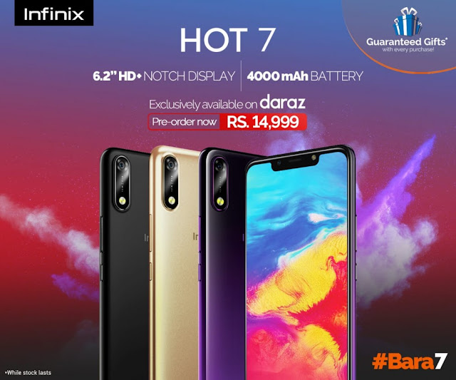 Infinix to Extend the Hot Series; Plans to Introduce Hot 7! - Price of 14,999 PKR