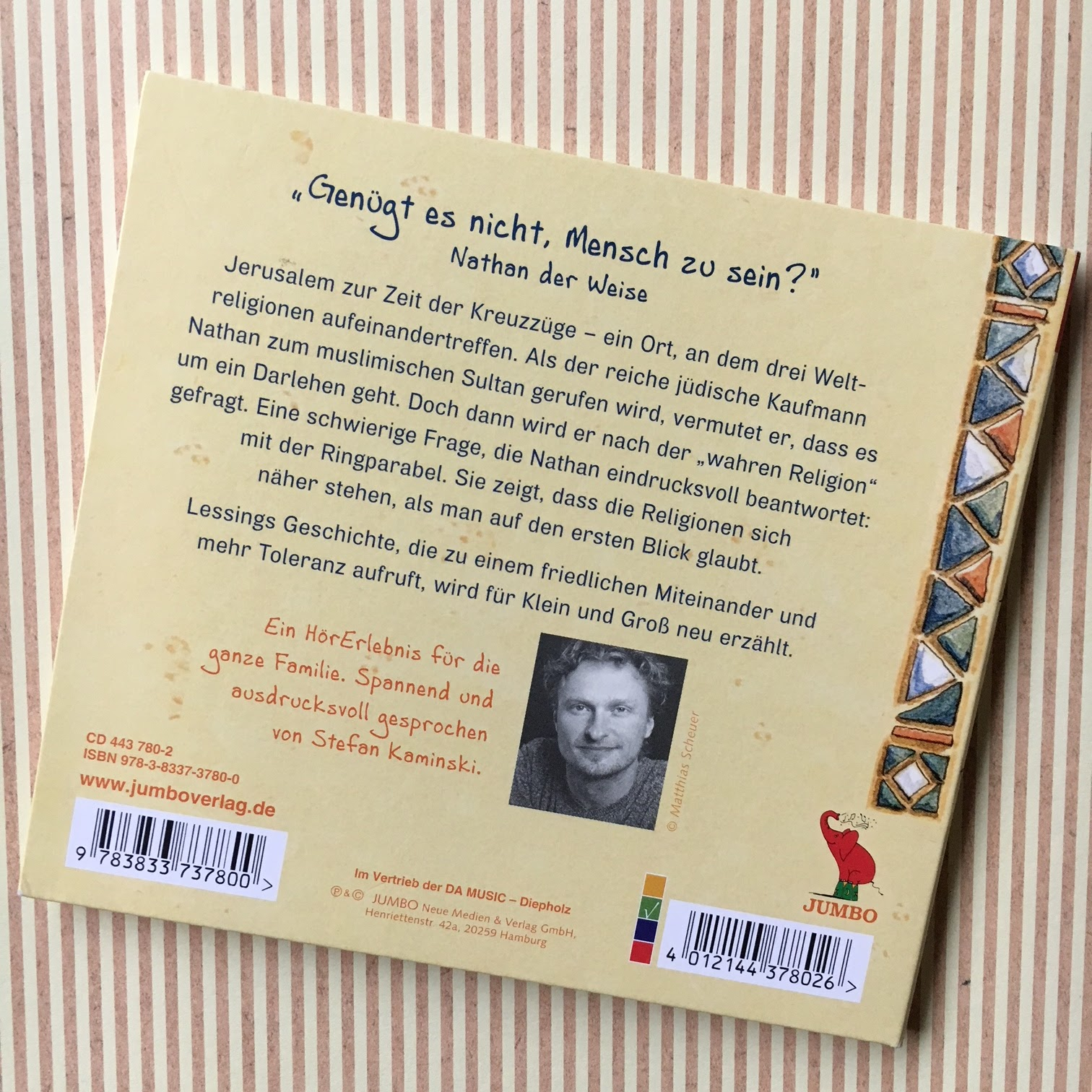 Kinderbuchblog familienb cherei nathan der weise das for Raumgestaltung nathan der weise