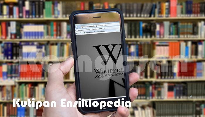contoh kutipan ensiklopedia