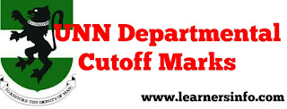 UNN CUT OFF MARKS