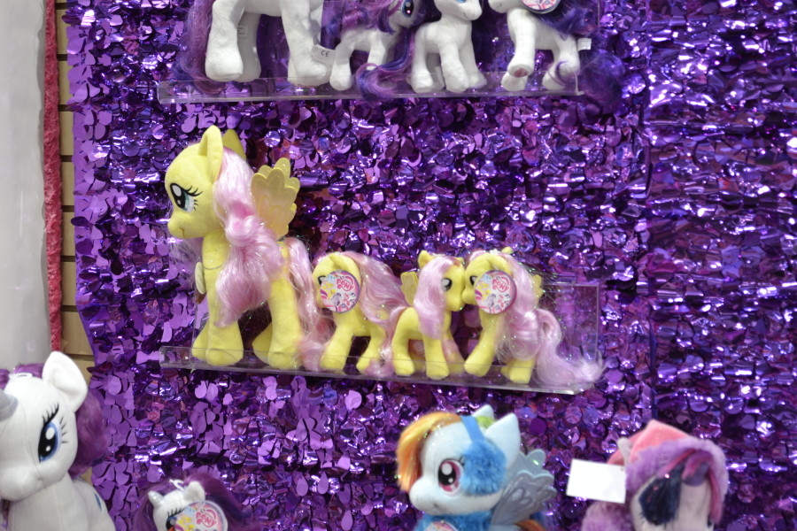 Aurora Fluttershy and Winter Gear Plushies at NY Toy Fair 2015