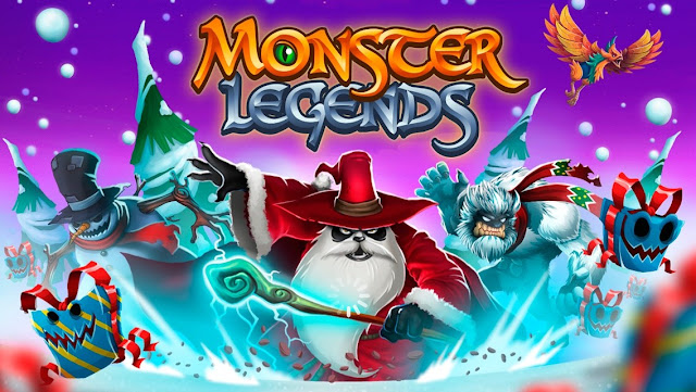 monster legends mod apk terbaru 2017