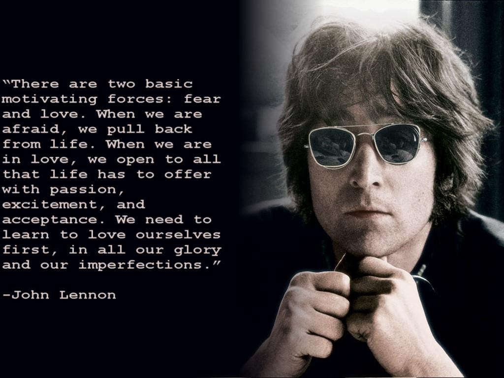 Http Sadquotes Xyz Post: Pax On Both Houses: John Lennon On Life's Two Fundamental