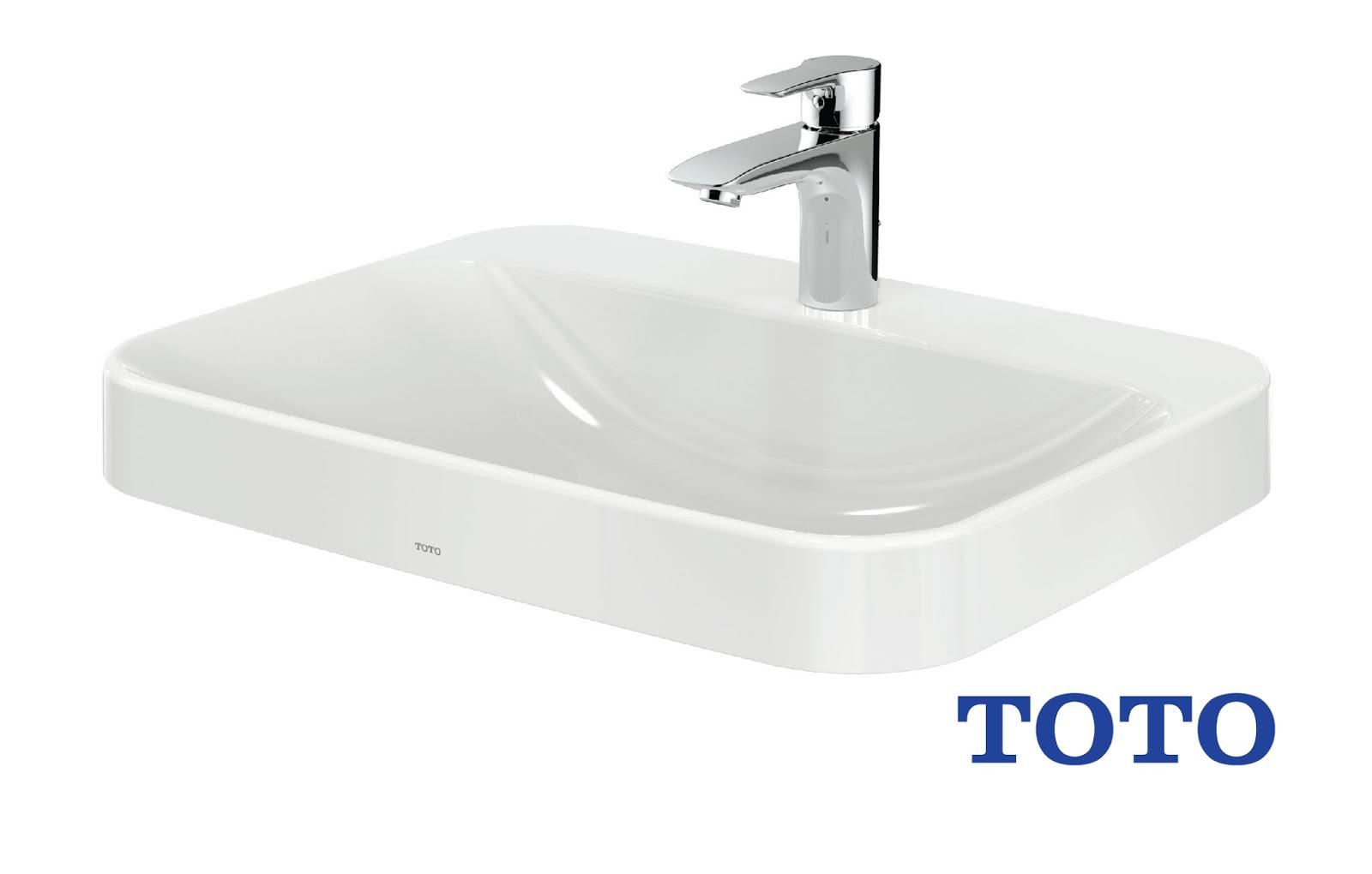 Bảng giá lavabo TOTO của đại lý thiết bị vệ sinh TOTO 2018 logo toto vietnam