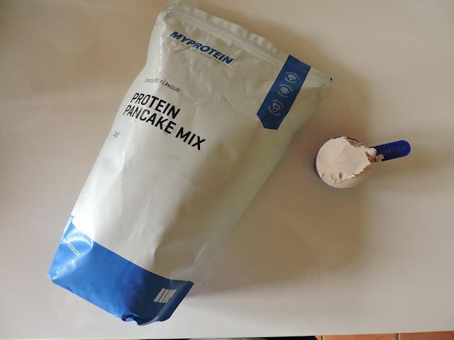 preparato per pancakes proteici mix myprotein