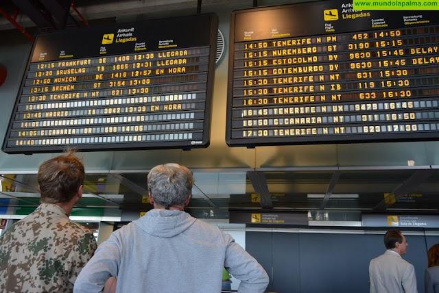Más de 260.000 turistas salen de los aeropuertos canarios hasta sus destinos en las 1.597 operaciones de retorno de extranjeros realizadas en la última semana
