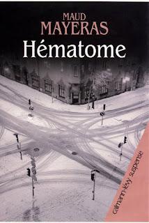 Couverture de Hématome, Maud Mayeras