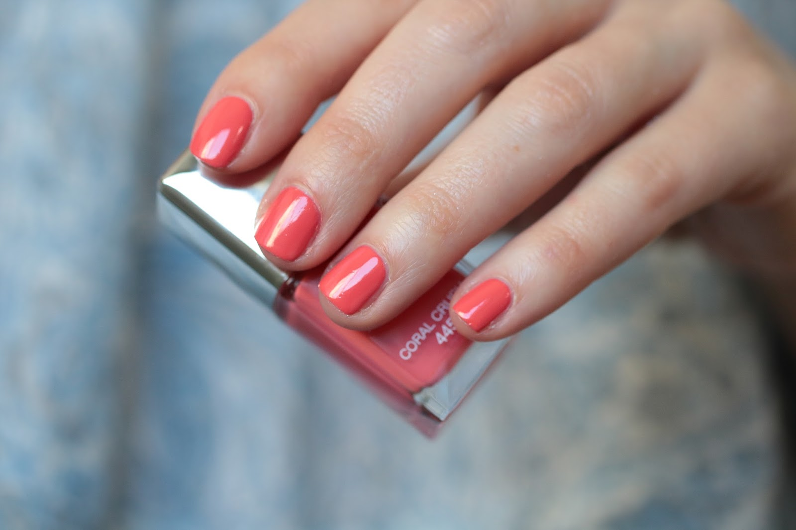 Ongles ete 2017 corail - Ongle tendance ete 2017 ...