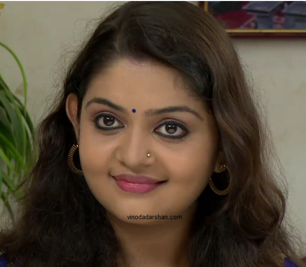 Bharay Serial Actress Aiswarya Nair -Mojitha in bharya Serial