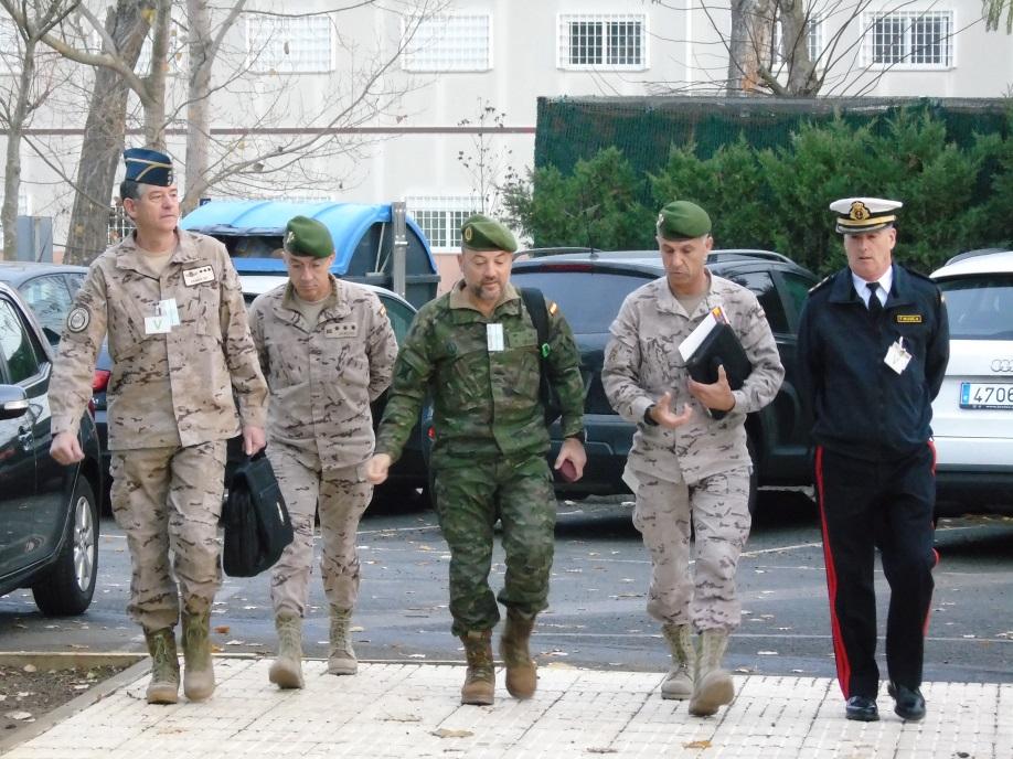 Reunión anual de jefes de Unidades de Operaciones