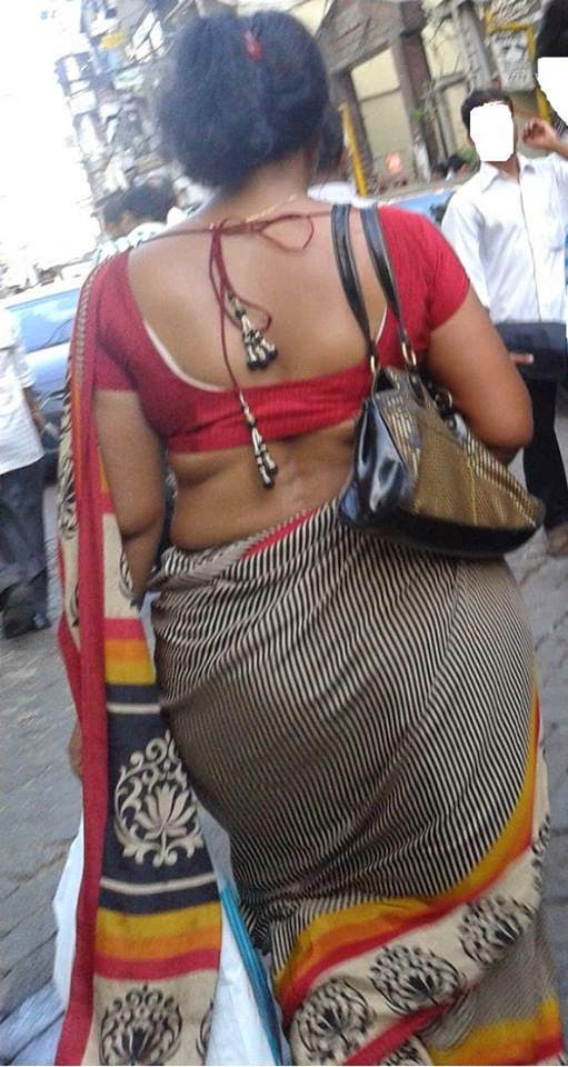 aunty saree back Tamil