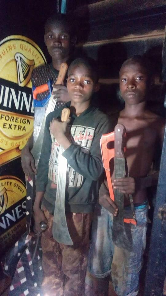 Three children nabbed while breaking into woman's shop in Lagos State
