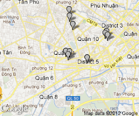 Günstige Hotels in Ho Chi Minh Stadt