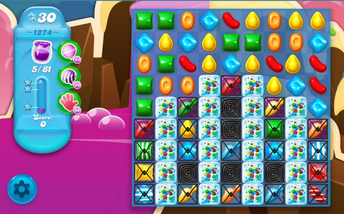 Candy Crush Soda Saga level 1274