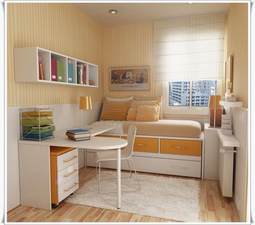 25 Desain Kamar Tidur Ukuran Kecil Bergaya Minimalis ...