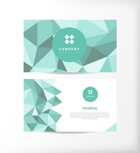 Business Card Template Vectors  Download Free Vector Art  Graphics   Freevectors