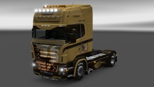 Scania RJL Griffin skin by Master of Desastar