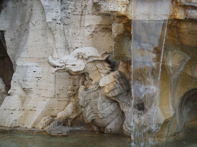 Le Fontane dell'Acqua Vergine: Predestinate e Reali