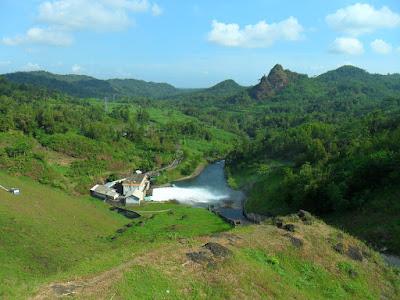 wisata alam di waduk wadas lintang wonosobo