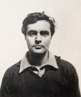 Amedeo Modigliani: A photograph taken in  about 1918, when the artist was 34 years old