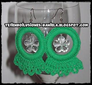 6dba52968f65 tejido crochet y artesanías  AROS