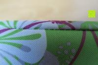 Nähte: Aosbos Wasserdichte Lunch Tasche Isolierte Thermo Picknicktasche für Lebensmitteltransport(Grün Blumen)