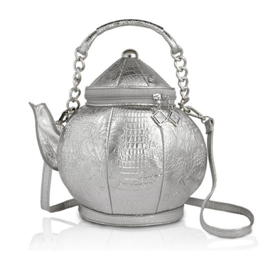 Kitschy unusual teapot purse