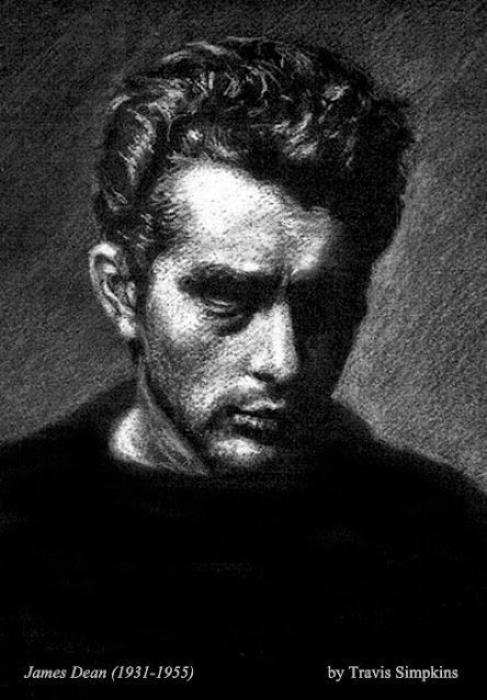 James Dean. 1931-1955. American Actor. Cultural Icon. by Travis Simpkins