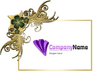 تحميل شعار أرجواني مفتوح جاهز للتعديل بالفوتوشوب, psd magenta logo design download
