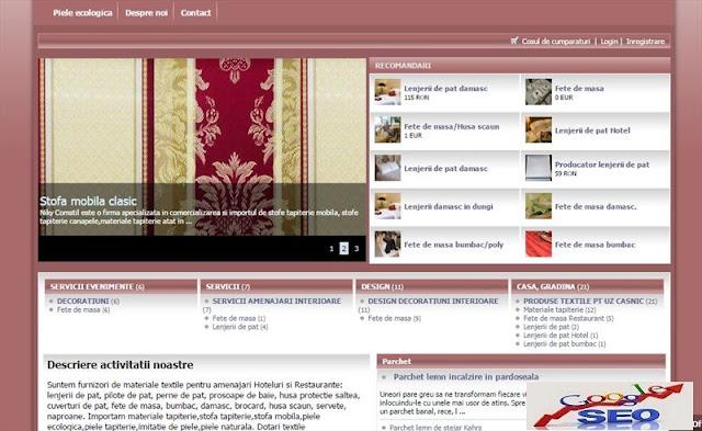 Promovare Web | Portofoliu promovare optimizare SEO | Publicitate online google adwords