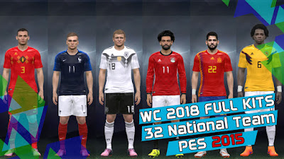 PES 2015 Kitpack World Cup 2018 Russia