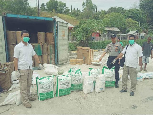 Polisi Ungkap Pengiriman Sianida dan Borax ke Namlea