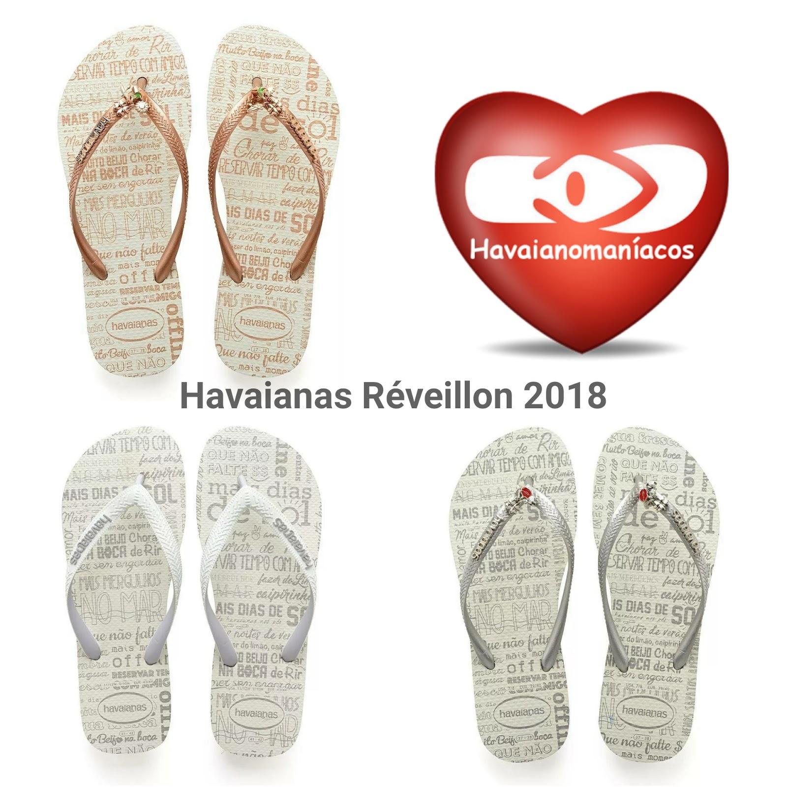 926599bbb8 São 3 modelos de sandálias havaianas sendo um modelo na versão top (tiras  tradicionais)