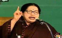 Jayalalithaa speech at election campaign in Madurai