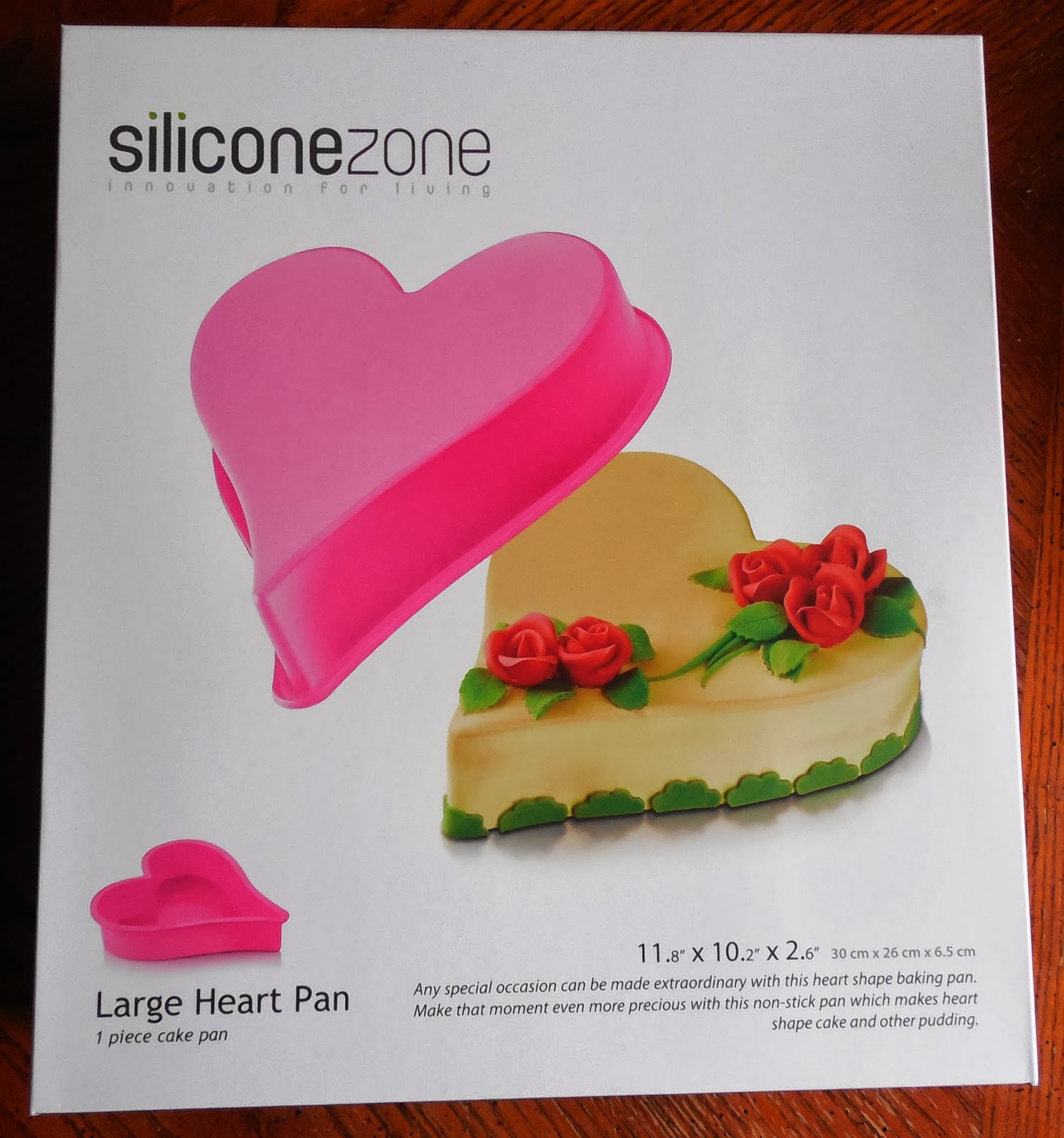 Siliconezone Heart Pan